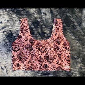 NWOT PINK Victoria's Secret Bralette Large